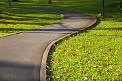 Pedestrian walkway Stock Images