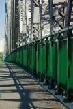 Pedestrian Walkway on the Stor. Ey Bridge (road bridge): Brisbane Australia Stock Photo