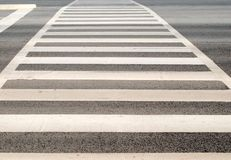 Pedestrian zebra crosswalk Stock Photos