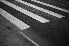 Pedestrian zebra Stock Photo