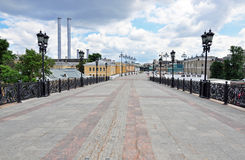 Pedestrian Zone in Moscow Royalty Free Stock Images
