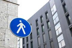 Pedestrian zone Stock Photo