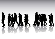 Pedestrians Stock Images