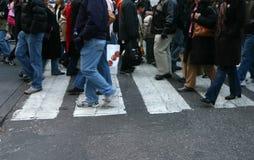 Pedestrians stock photos