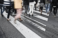 Pedestrians Royalty Free Stock Photography