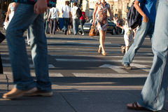 Pedestrians Royalty Free Stock Images