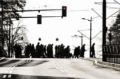 pedestrians fotografia de stock royalty free