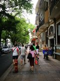 pedestrians foto de stock
