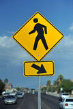 Pedestrians Crossing Royalty Free Stock Photography