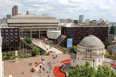 Free Pedestrians Outside Paradise Forum, Birmingham Stock Images - 43418594