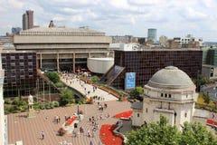 Pedestrians outside Paradise Forum, Birmingham Stock Images
