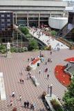 Pedestrians outside Paradise Forum, Birmingham Stock Photo