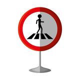 Pedestrians on the road Royalty Free Stock Photo