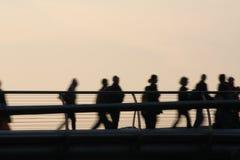 Pedestrrian桥梁 免版税库存图片