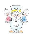pediatra Fotografia Stock