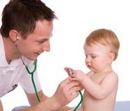 Pediatra Imagens de Stock