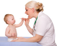 Pediatra Fotografia Stock Libera da Diritti