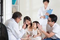 pediatra Obraz Royalty Free
