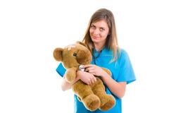 Pediatria fatta bene Fotografie Stock Libere da Diritti
