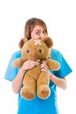 Pediatria feita certo Imagens de Stock Royalty Free
