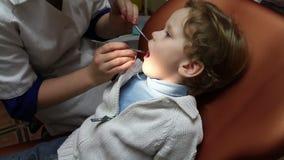Pediatric Dentistry stock video footage