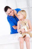Pediatric office Royalty Free Stock Images