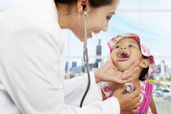 Pediatric-patient-care Royalty Free Stock Photography