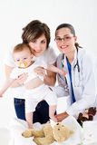Pediatric visit Stock Photos