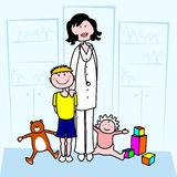 Pediatrician Royalty Free Stock Image