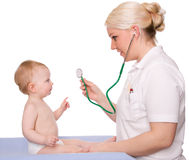 Pediatrician Stock Image