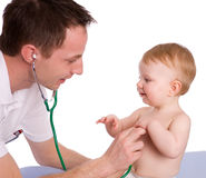 Pediatrician Royalty Free Stock Photos