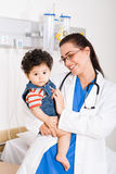 Pediatrician Stock Photo