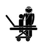 Pediatrician design Royalty Free Stock Photography