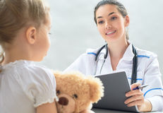 Pediatrician Royalty Free Stock Images
