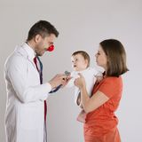 Pediatrician doctor Royalty Free Stock Image