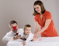 Pediatrician doctor Stock Images
