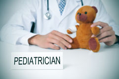 Pediatrician Royalty Free Stock Photo