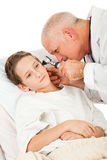 Pediatrician Examines Patient Stock Photos