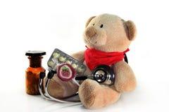Pediatrician visit Stock Images