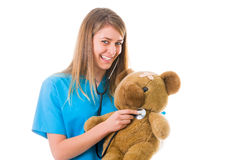 Pediatrics done right Stock Images