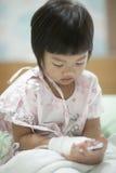 Pediatriska patienter Fotografering för Bildbyråer
