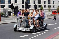 Pedibus on Blackfriars Bridge, London Stock Photo