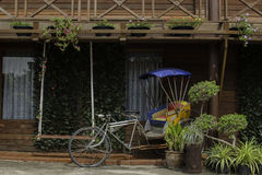 pedicab 库存照片