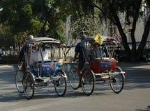 Pedicab or Cycle rickshaw in Thailand