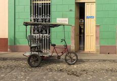 Pedicab du Trinidad Photos stock