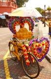Pedicab em Malásia Imagens de Stock Royalty Free