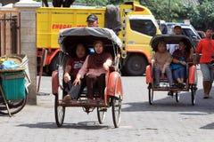 Pedicab Stock Photography