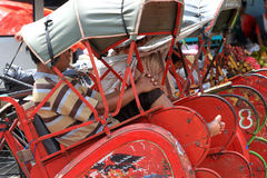 Pedicab Royalty Free Stock Photography