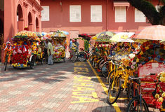 Pedicab in Malacca Royalty Free Stock Photography