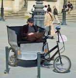 Pedicab in Paris Stock Photos